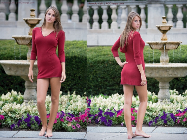 Báles Clothing Burgundy Dress